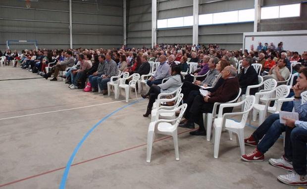 <p> Culto unido de Iglesias Evang&eacute;licas AAHH de Castilla y Le&oacute;n, el d&iacute;a 1 de mayo en Astorga. / Diario de Le&oacute;n</p> ,